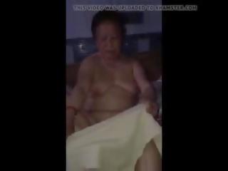 China abuelita desnuda: saggy tetitas porno vídeo 49