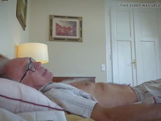 Old Young Porn Threesome with Petite Teen Pussy Sexy...