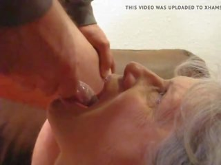 see blowjobs, hot cum in mouth most, granny real