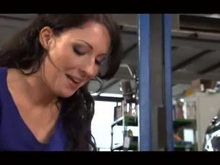 German Mechanic Gets Handjob