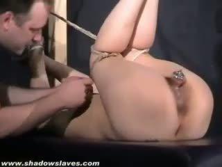 Bound Japanese Slavegirls Pussy Pain