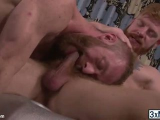 homo- scène, zoenen thumbnail, echt spier mov