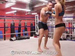 高清晰度 fantasyhd - natalia starr wrestles 她的 方法 成 他妈的 session