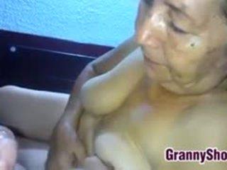 bestemor, blowjob, latin, pov