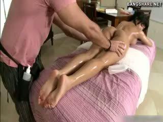 brunettes, massage watch