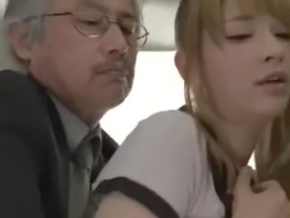 Asian Teen Gets Fucked On The Bus JAV
