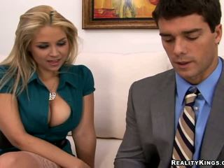 fresh blondes rated, full big tits ideal, office