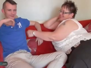 Agedlove Bbw Chubby Granny Honey and Sam Bourne