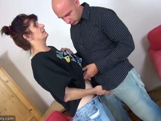 Oldnanny vyzreté babka enjoying čerstvý meat: zadarmo hd porno 84