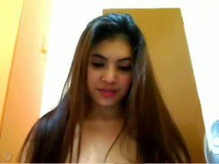 mais webcams mais quente, ver adolescente, agradável asiático verificar