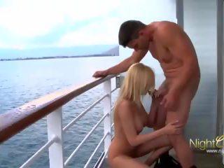 Love Boat Blond Fuck: Free Night Club Channel HD Porn Video