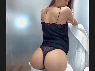 Sexy Cute Girl Ass Shaking in Office, HD Porn 97