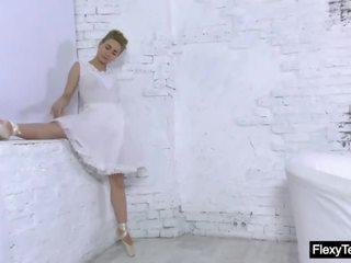 groot gymnast seks, solo girl, nieuw broodmager video-