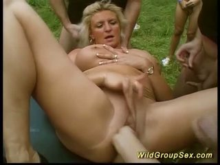 German Outdoor Groupsex Party Orgy, Free Porn 5e