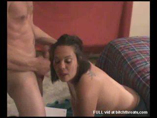 oral sex, bedroom, milf blowjob action