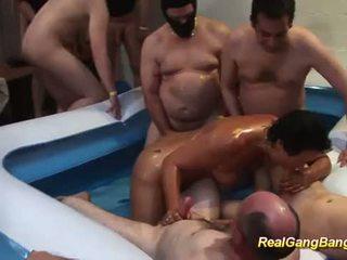 zien groepsex neuken, swingers seks, nominale kokhalzen