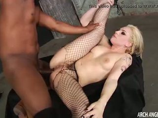 Dahila Skye first interracial anal sex
