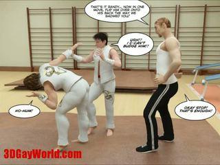 Kung fu guys al 3-lea homosexual desen animat animated comics