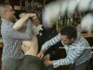 kerel, plezier groepsseks scène, homo- kanaal