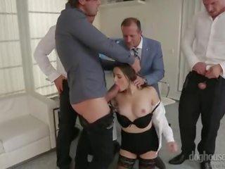 echt brunette seks, groot orale seks gepost, dubbele penetratie thumbnail