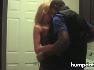 Cuckold films blonde hotwife with her bull