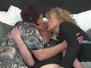lesbiennes, ideaal grannies mov, vol matures