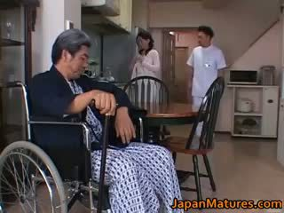 heiß brünette, qualität japanisch beobachten, gruppen-sex heiß