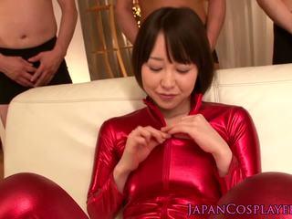brunette porno, kwaliteit orale seks, plezier japanse