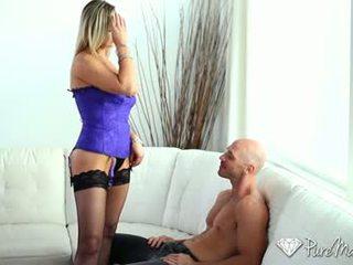 kvalita orální sex velký, čerstvý vaginální sex plný, zábava kavkazský sledovat