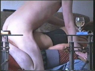 Amateur sex with a milf in lingerie
