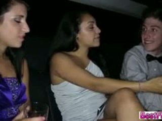 Damn Pretty Cute Teen Gets Fucked In The Limo