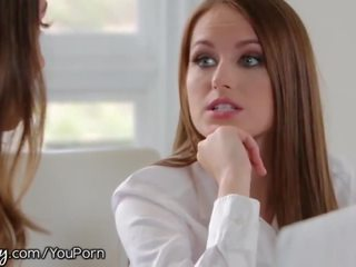 brunette, reality, pussy licking