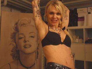 alle tattoos, mooi anaal actie, femdom