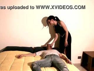 porno video-, man actie, meisje