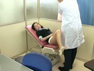 brunette, voyeur, babe, massage