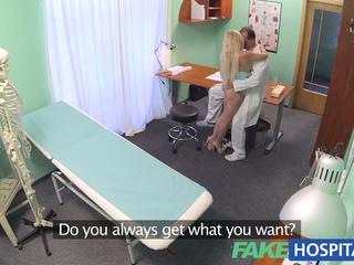FakeHospital Sexy blonde has full examination