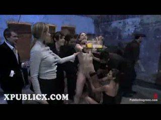 plezier vibrator, heet voorlegging, groot orgie porno