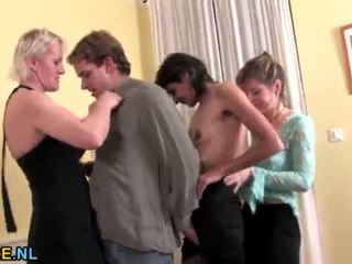Three horny matures having a sexparty <span class=duration>- 6 min</span>