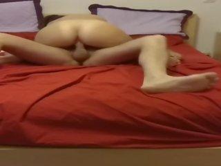 brunette kanaal, vol vaginale sex, cowgirl
