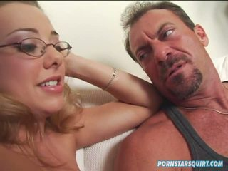 Tiana Lynn Uses Randy Spears Thick Muscle Cock To Show Allie Ray The Basics Of Squirting