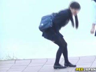 høyskole, japanese, voyeur, uniform