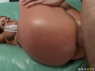Filthy whore Nikki Sexxx enjoys the warmth of her man's cream on her mouth