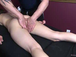 nieuw spuitende kanaal, vol vingerzetting gepost, nominale massage gepost