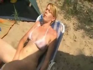 Mom camping sex