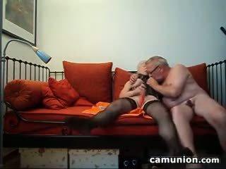 meest webcam, een oma vid, meer europese video-