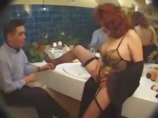 フランス語 salope: フリー 乱交パーティー ポルノの ビデオ af