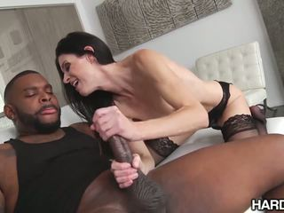 HardX MILF India Summer's ASS Rides The Big Black D