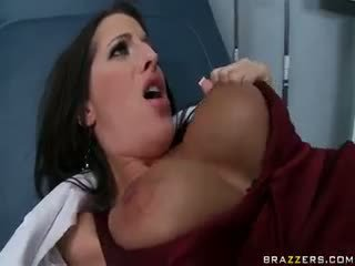 rated brunette, nice big boobs, real blowjob you