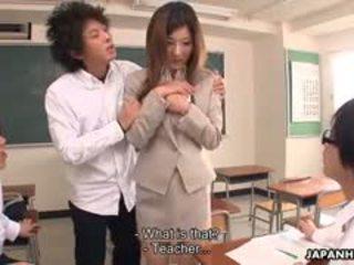 hq college, kwaliteit japanse scène, kijken pijpbeurt porno