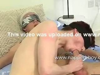 Sebastian with two fit bound cuties play